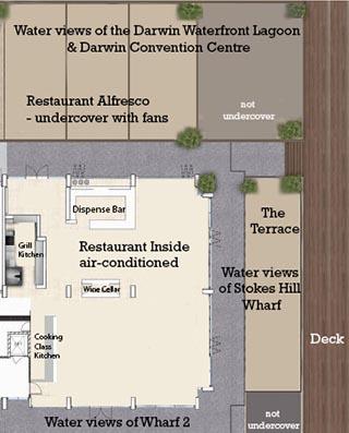 Wharf One Food & Wine Floorplan